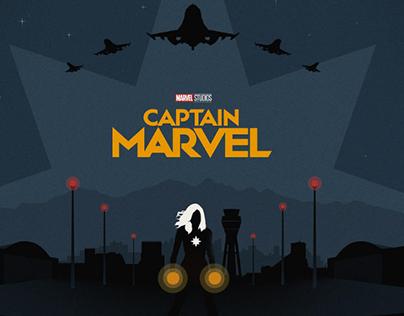 """The Poster Posse X """"Captain Marvel"""""""