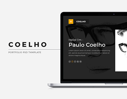 Coelho: Personal Portfolio PSD Theme