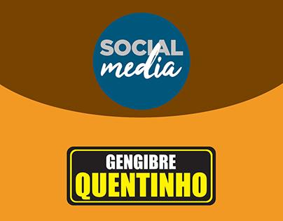 Gengibre Quentinho - Social Media