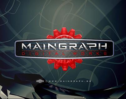 Maingraph   animated 3D logo