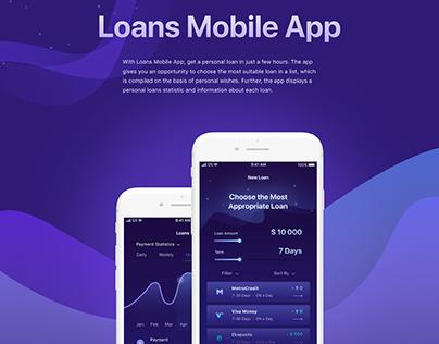 Loans Mobile App