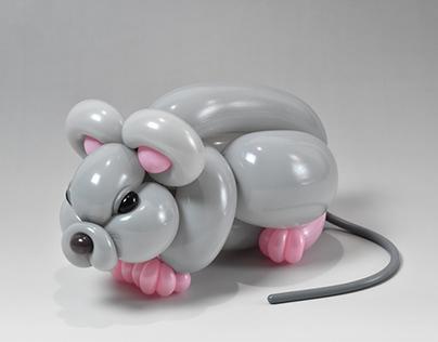 mouse (balloon art)