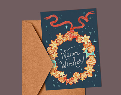 Warm Wishes - Holiday Card
