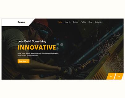Banao - Construction HTML Template - Envato