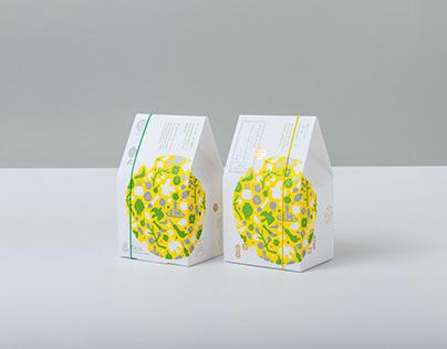 iBakery x Man Mo Temple - seasonal cookies packaging