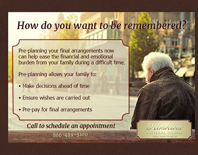 Haskins Funeral Home Ad
