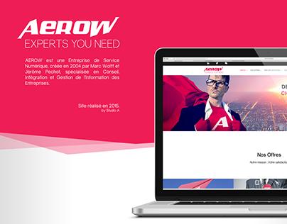 AEROW website