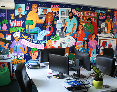 Developers Office (Mural)