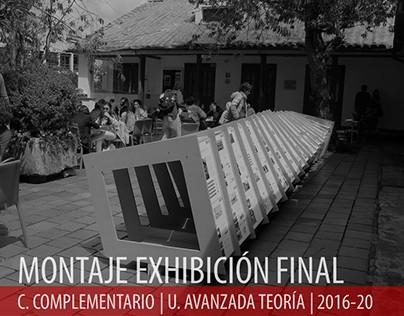 2016.20_U. Avanzada Teoría_Montaje Exposición Final