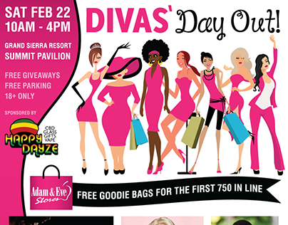 Divas Day Out 2020 Branding and Logo