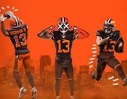 NIKE X NFL Poster Series