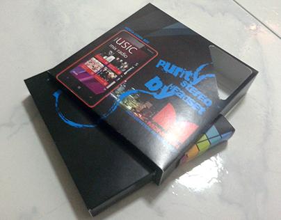 Earphone Packaging Design for Nokia