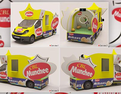 Product Promotional Van Design