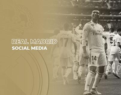 Real Madrid - Social Media