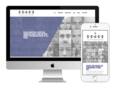 OSACO responsive website