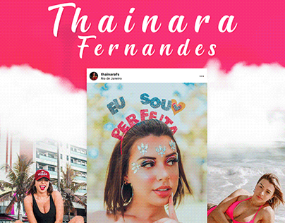 Mídia Kit - Thainara Fernandes 25k