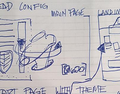 UI-UX: Design Sketch(WIP)