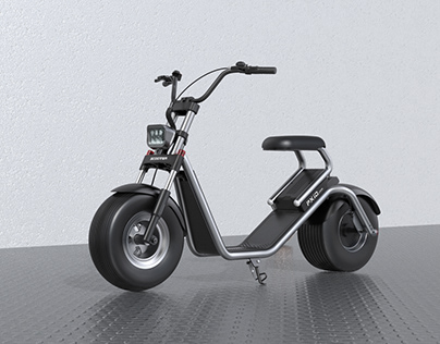 PXID Designed 13Inch Tire Electric Motorcy Scooter