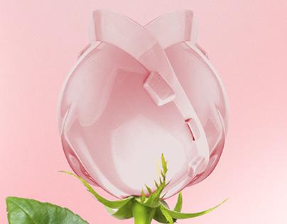 Anúncio - MSA Safety - Capacete V-Gard Rosa