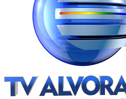 TV ALVORADA - GLOBO- FLORIANO PI - ESTUDOS DE 3D