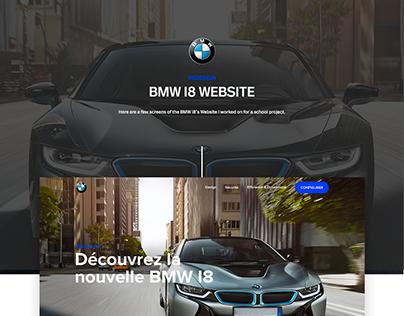 BMW I8 - Website