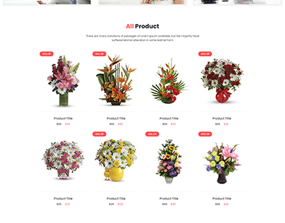 Fultala – Flower Shop HTML Template