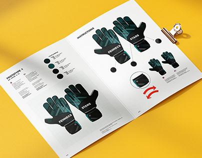 Fennecs Gloves football
