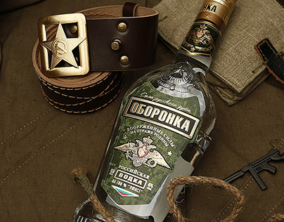 "Vodka ""ОБОРОНКА"""