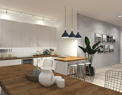 Modern Eclectic 2-Bedroom Residential
