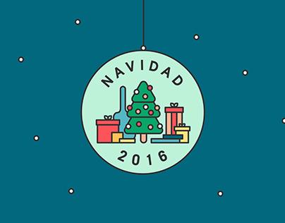 Inditex Navidad 2016 Web