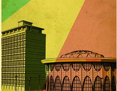 Ethiopian vintage posters