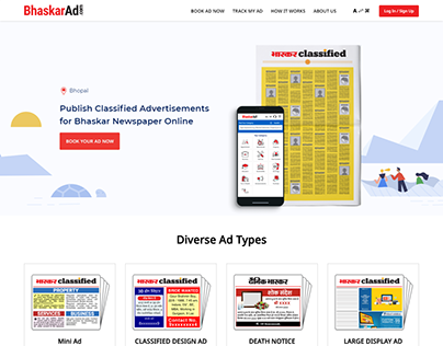 Classified ad booking portal
