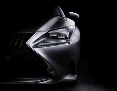 Lexus RC 350 F-Sport fine art photography.