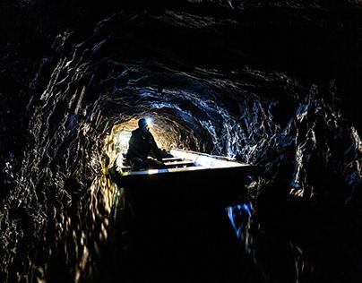 Gold mine. Zloty Stok. Poland