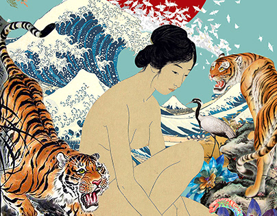 Collage Japanese Colors