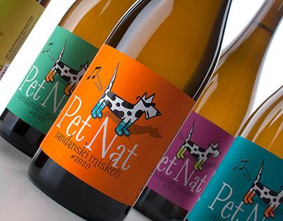 Orbelia Pet Nat Label Design