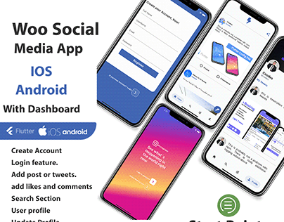 Social Media App with Dashboard