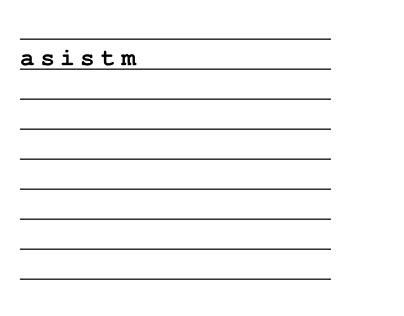 ASISTM