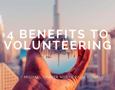 4 Benefits to Volunteering