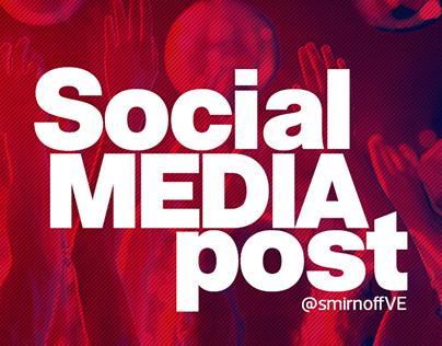 Social Media Post SmirnoffVe