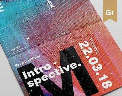 Introspective // Poster series