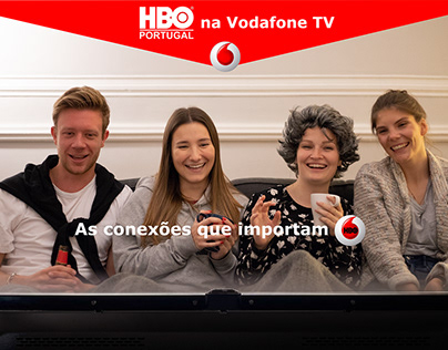 Vodafone X HBO - Advertising Campaign