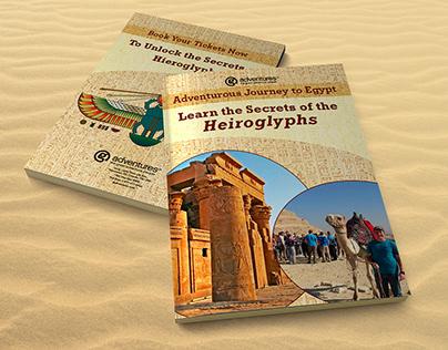 Learn the Secrets of Hieroglyphs   Travel Brochure