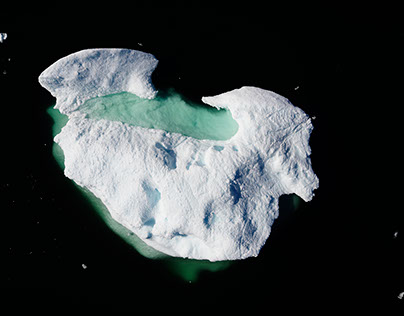 Icebergs and Glaciers of Western Greenland