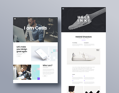 Cesis Creative Agency - FREE Website PSD Template