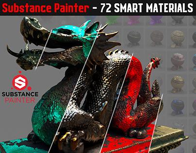 72 Smart Materials - Substance Painter