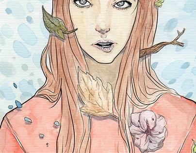 Watercolour Nymph
