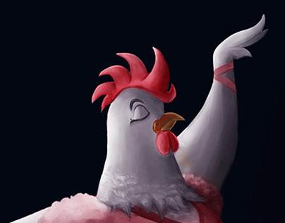 Chicken Ballerina