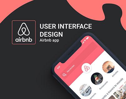 Airbnb - UI & UX app design