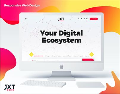 JXT Solutions Responsive Web Design